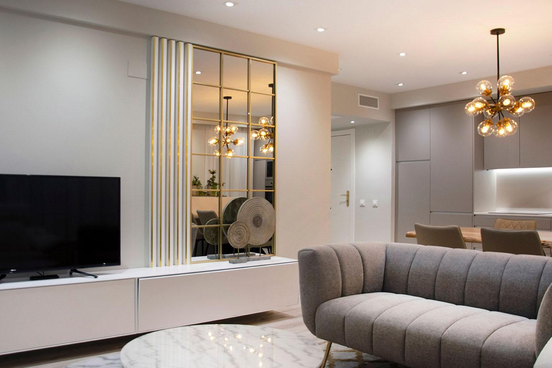 Reforma salón apartamento